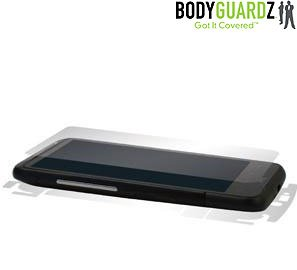 BodyGuardz NL-BHIN-0211 Clear Skins Full Body Protection Carrying Case for HTC Inspire  - Wet Apply - Retail Packaging ()