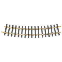 Bachmann Industries Large G Scale Universal Brass Track with 5' Diameter Curve (12 per (Big 5 Scale)