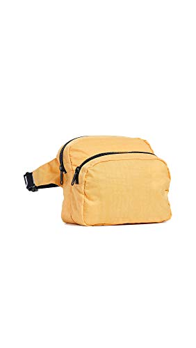 Price comparison product image BAGGU Women's Fanny Pack,  Marigold,  Yellow,  One Size