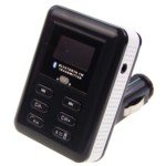 MP3 Player FM Transmitter + Bluetooth Car Kit with Remote Controller (USB / SD / MMC)