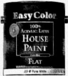 Trim Tint Base - True Value JEFT-5G Painter's Select Everyday Tint Base Exterior Flat Latex House Paint, 5-Gallon