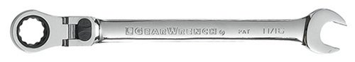 GEARWRENCH 9711 11//16-Inch Flex-Head Combination Ratcheting Wrench