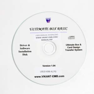 Ultimate Box USB Plus 1-Slot w//Ultimate Card ver 7 and MAC II for PES Brother Brother 8 Bernina Deco Baby Lock Simplicity and White Machine e Vikant Embroidery Design Converter for Windows 10