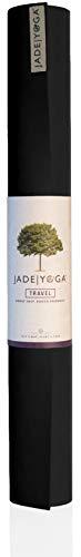 Jade 68-Inch by 1/8-Inch Travel Yoga Mat (Black)