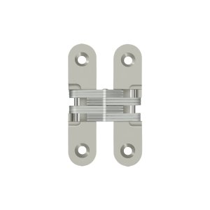Deltana DCH208U15 Invisible, Concealed Hinges 2 3/4'' x 5/8'', Concealed Hinge 1 Pair In Brushed Nickel......