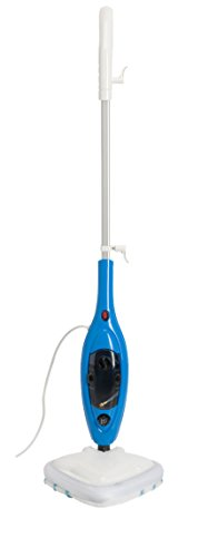 MEDION (MD 15857) Dampfbesen (1300 Watt, 300ml Wassertank, 180° schwenkbarer Dampfkopf, Aufwärmzeit 20 Sekunden) weiß