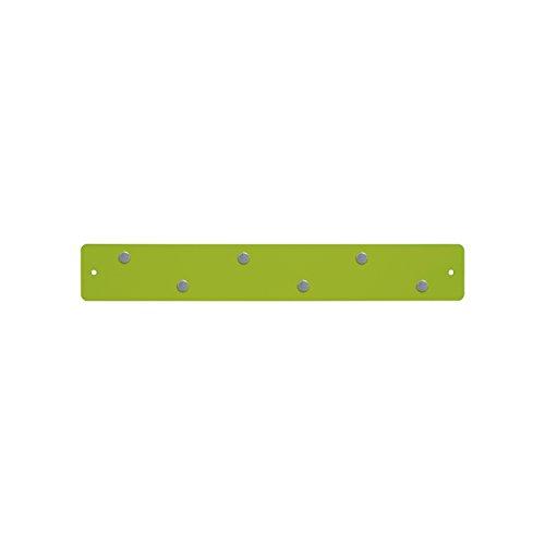 Three By Three Seattle Mini Magnetic Strip Bulletin Board, Spring Green