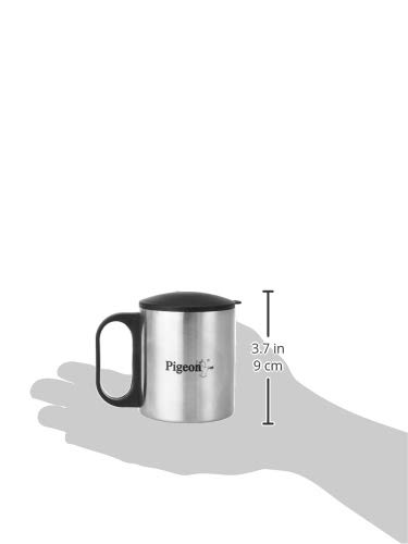 Pigeon-Stainless-Steel-Double-Coffee-Mug-Set-of-2-180ml-Silver