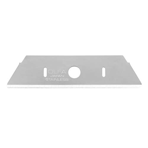 OLFA Rounded-tip Stainless Steel Safety Blade -10/pk (SKB-2S-R/10B | #1134143)