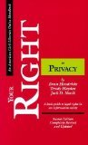 Your Right to Privacy, Second Edition: A basic guide to legal rights in an information society (ACLU Handbook)
