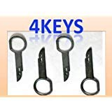 Radio Removal Tool Set 4 Keys for Porsche Volkswagen Mercedes Audi Vw Ford