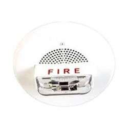 Cooper Wheelock E90-24MCC-FW E90-24MCC Ceiling Mount Fire Alarm Speaker Strobe, White
