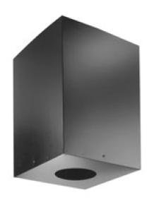 Chimney 25373 3 in. Pellet Vent Pro Cathedral Ceiling Support Box-includes Trim And Clamp - Cathedral Ceiling Support Box