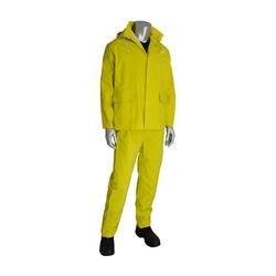 Premium Treated 3-Piece Rainsuit with Jacket - 0.35 mm 205-370FR/XL, (10)