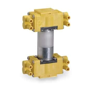 (Quad-Head Diaphragm Pump, for Gases, 29.9 LPM; 12 VDC)