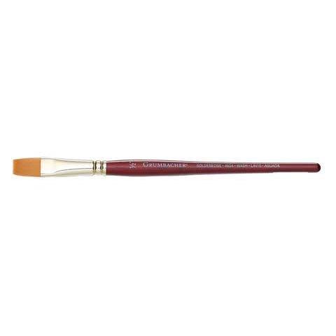 Grumbacher Goldenedge Golden Toray Wash Watercolor Brush, Synthetic Bristles, Size 1/2'' (4624.05)