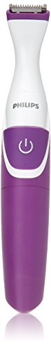 Philips BikiniGenie cordless Women's Trimmer for bikini line, wet & dry BRT383 (Electric Razor For Women)