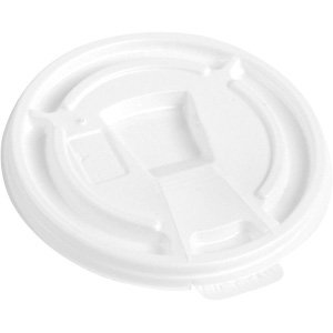 Wincup 12 - 24 oz Foam Cup Lid Tear Tab - 500ct
