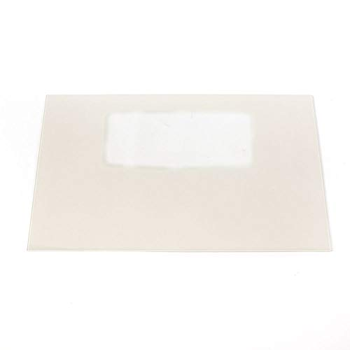 (Frigidaire 5303935205 Range Oven Door Outer Panel and Foil Tape (Bisque) Genuine Original Equipment Manufacturer (OEM) Part)