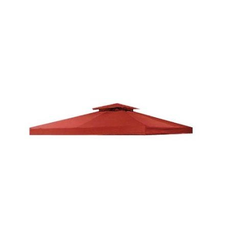 Open Box Cinnamon Red 10 X 10 Universal Gazebo