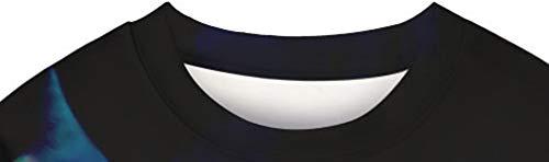 Pull Laid xl shirt Chat 3d Tiners Nouveauté Unisexe Longues Manches Modèle À Sweat BqwFU85