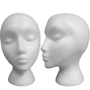 Styrofoam Model Heads, Hat, Wig Foam Mannequin 6 Pack by ALINCAS (Image #1)