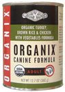 Castor and Pollux Organix Dog Formula Turkey and Vegetable — 12.7 oz, My Pet Supplies