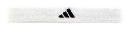 Bar Headband - adidas Interval Slim Headband, White/Black, One Size Fits All