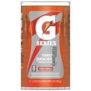 Gatorade G Series Perform Fruit Punch Powder Packs, 1.23 oz, 8 count(Case of 2) (Powder Pack Punch Fruit)