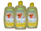 3-pack Sesame Street Hypo-allergenic Hair and Body Baby Wash, 10 Fl Oz Ea