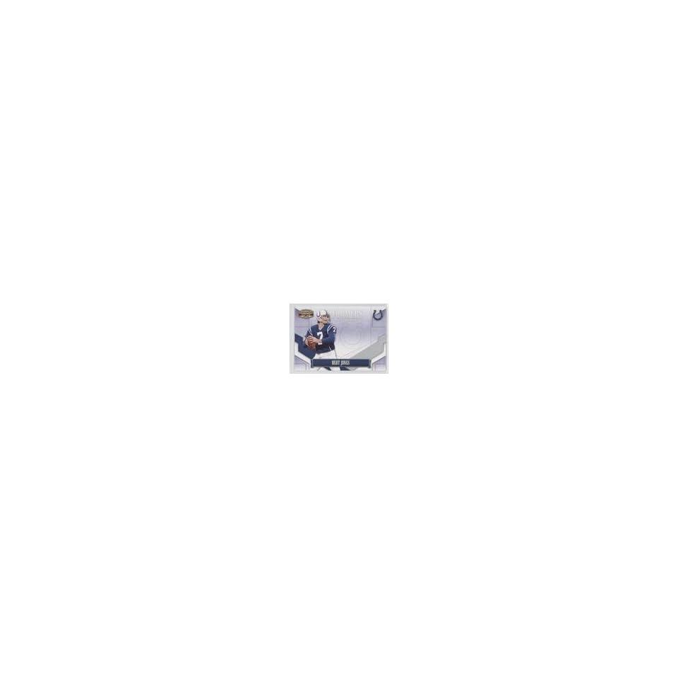 Bert Jones #87/250 (Football Card) 2008 Donruss Gridiron Gear Performers Silver #P 3