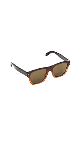 Givenchy Women's Square Gradient Frame Sunglasses, Brown Black/Brown, One - Frames Givenchy