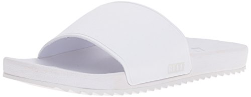 Reef Women's Slide Sandal, White, 10 M US