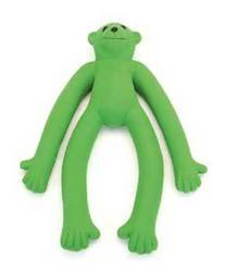 Coastal Pet Products DCP83057 Latex Rascals Long Legged Monkey Dog Toy, 11-Inch, Green, My Pet Supplies