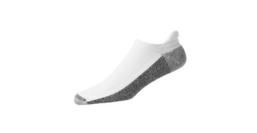 Footjoy Mens Roll Top (FootJoy ProDry Men's Roll-Top Socks - White (7-12) by FootJoy)