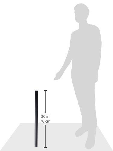Black Ergotron Mounting Pole Mounting Pole