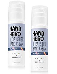 Bath and Body Works Active / Skin Care Hand Hero Ultra-Relief Hand Cream 5 Ounce - Pack of 2
