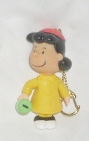 Lucy Van Pelt Dress (Peanuts Charlie Brown Christmas - Lucy Van Pelt Clip-On Keychain)