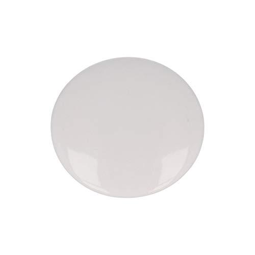 Aromas de Te | Tapa para Taza de Te | Color Blanco | Diametro 85 mm | Tapa de Ceramica | Diseno Redondo | Mantiene la Temperatura del Te | Para Cualquier tipo de Taza de Te