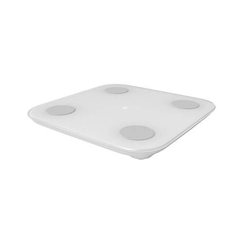 Mi Body Composition Scale 2 Blanco Sensor en Forma de G/Chip BIA de Alta precisión / 13 Datos corporales/Prueba de Capacidad de Equilibrio