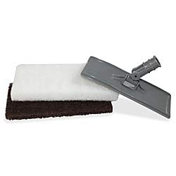 Genuine Joe Cleaning Pad Holder - 2 / Set - Gray