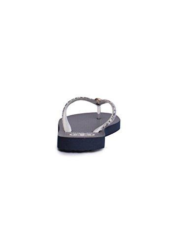 Tory Burch Sottile Stile Flip Flop 32158638 Leopardo Nebuloso Di Piccole Dimensioni