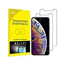 JETech Screen Protector for Apple iPhone Xs Max 6.5-Inch, Tempered Glass Film, 3-Pack