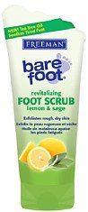 Revitalizing Foot Scrub (Freeman Bare Foot Scrub 5.3 Ounce Lemon & Sage (Revitalizing) (156ml))