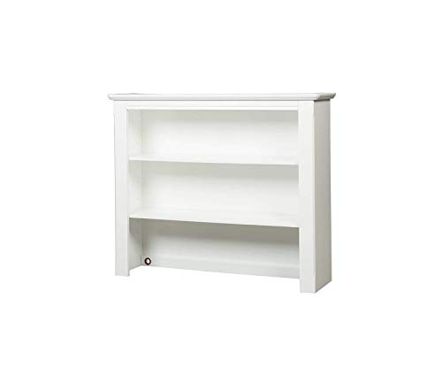Wood & Style Bedford Baby Combo Hutch with TouchlightsWhite Decor Comfy Living Furniture Deluxe Premium Collection
