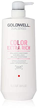 Goldwell Dualsenses Color Extra Rich Conditioner by Goldwell for Unisex - 34 oz Conditioner, 1020 mls