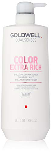 (Goldwell Dual Senses Color Extra Rich Brilliance Conditioner (Luminosity for Coarse Hair) 1000ml/33.8oz)