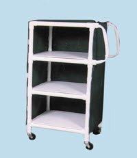 Rubbermaid Multi Purpose Shelf - 1160818 Cart Multi-Purpose 3-Shelf Forest Green Ea Rubbermaid -11766