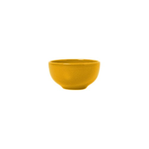 Syracuse China 903044005 Cantina Saffron 8 Ounce Bouillon - 12 / CS ()