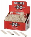 091996002000 - Nelson Wood Shims PSH8/14/52 (one pack of 14 shims) carousel main 0